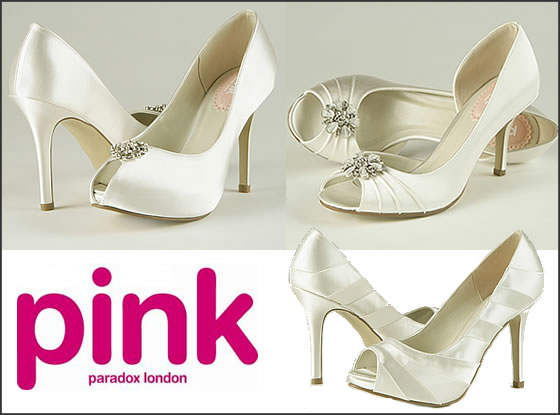 Pink by Paradox london chaussures mariée